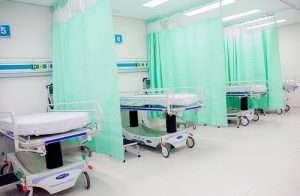 imagen de camas de hospital parahablar de la posibilidad de dar las madres el pecho en la uci