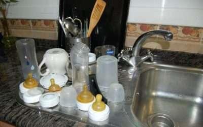 Consejos para preparar y limpiar el biberón