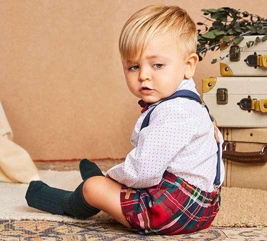 imagen de un bebé cedida por mis soletes para el artículo comprar ropa por internet