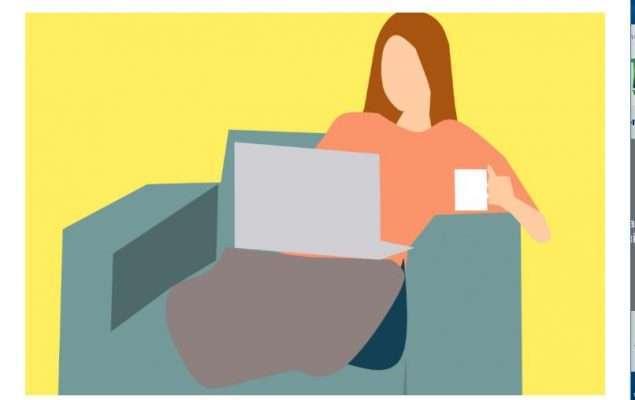 mujer al ordenador autonomas