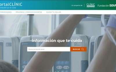 El Hospital Clinic crea una web de información de salud fiable