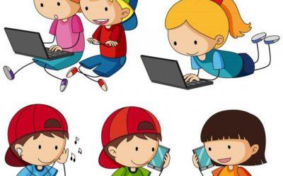Casi una cuarta parte de los niños usan internet de forma compulsiva