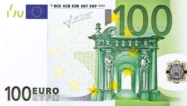 billete de 100 euros para hablar de ayuda 100 euros familia numerosa y monoparental