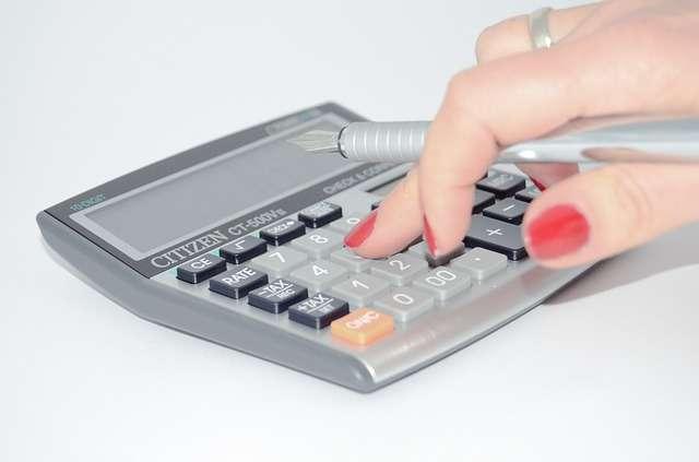 imagen de una calculadora