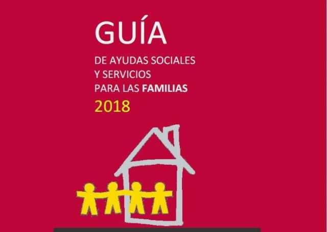 La Guía de Ayudas Sociales a las Familias 2018 se actualiza con las mejoras aprobadas en julio