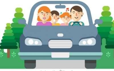 Consejos para prevenir el mareo en el coche