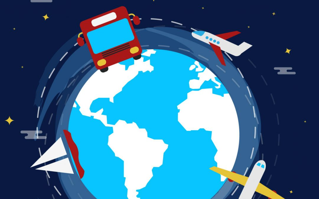 viajar medio de transporte