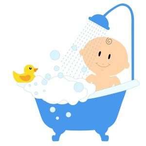 bañar al recién nacido