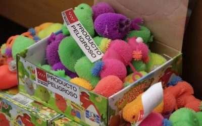 El 20 % de las alertas por productos peligrosos en Madrid: juguetes y ropa infantil