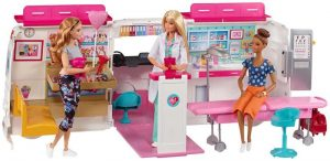 ambulancia barbie