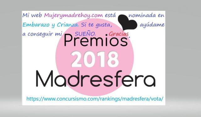 premios madresfera mujerymadrehoy