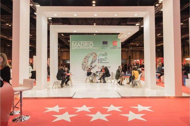 XII Feria de empleo para personas con discapacidad en Madrid
