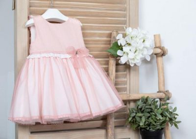 Vestido de plumeti