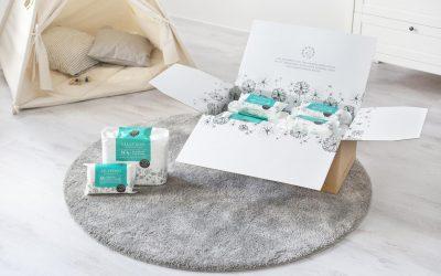 Qué buena idea: una caja mensual de pañales a domicilio