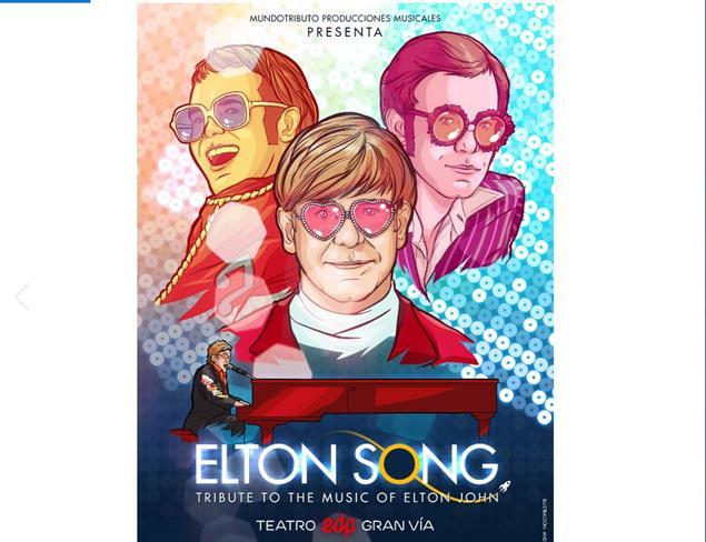 Estreno en Madrid de Elton Song: un mágnifico tributo a Elton John