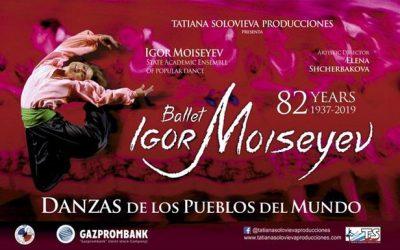 El ballet de Igor Moiseyev empieza una gira por España