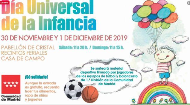 Día de la infancia 2019: actividades gratis para niños en Madrid