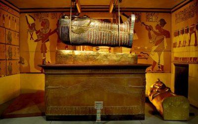 Llega a Madrid la exposición sobre Tutankhamón