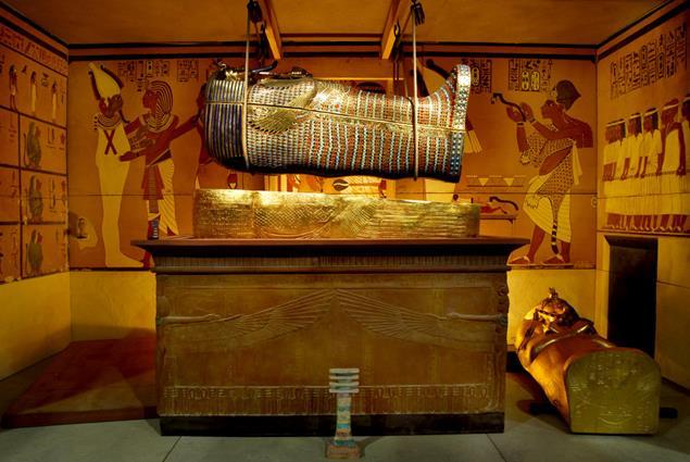 exposición tutankamon