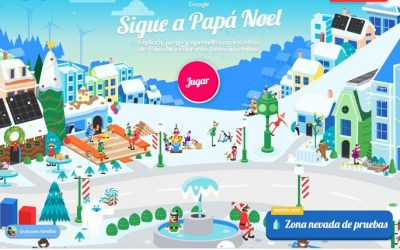 Google activa un portal con juegos de Papá Noel
