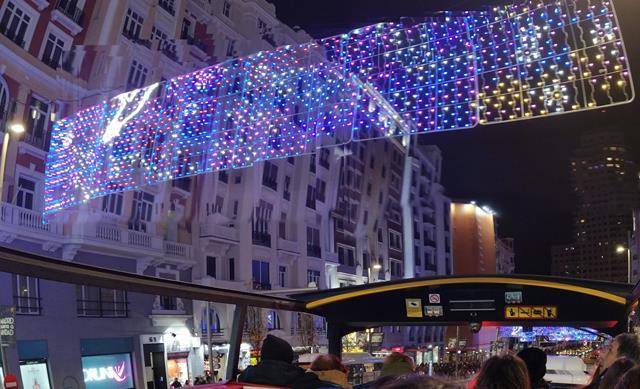 planes por navidad en Madrid