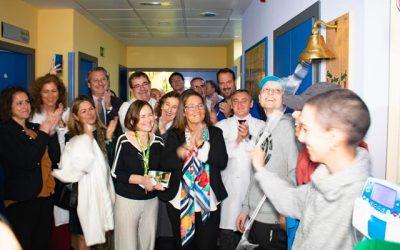 Una campana para celebrar la lucha contra el cáncer
