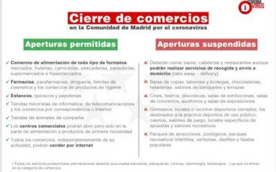 Madrid se blinda frente al Coronavirus