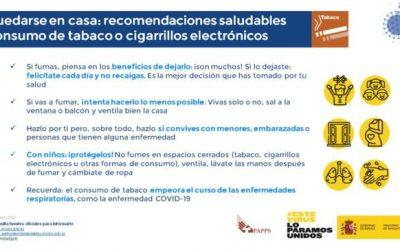 Sanidad dice que no hay evidencias de que la nicotina proteja frente a la COVID-19