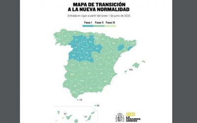 El 1 de junio el 70% de España estará en Fase 2
