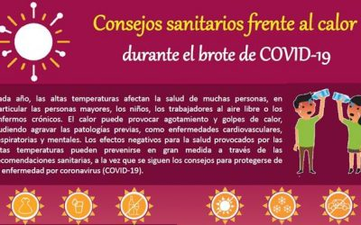 Consejos para hacer frente al calor durante la pandemia de Covid-19