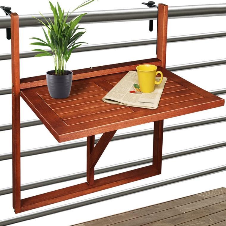 mesa plegable balcon