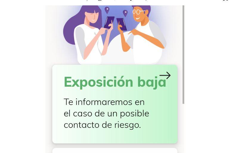 app para rastrear contagios de Covid en España
