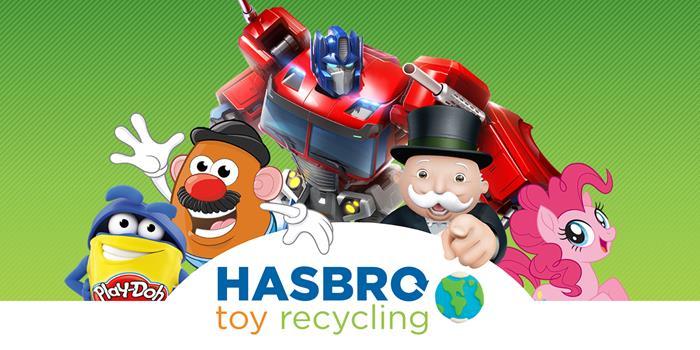 Hasbro reciclar juguetes